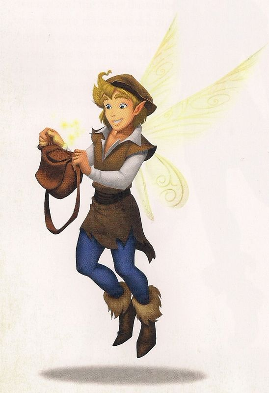 Pixie Hollow Cast - JEROME