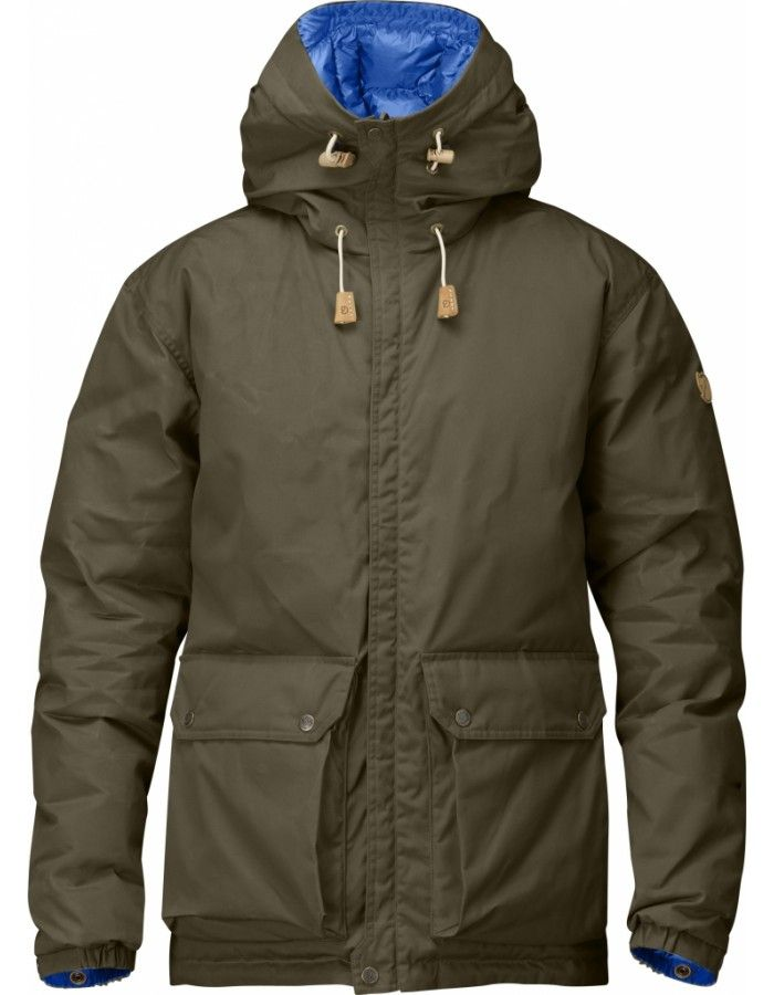 Fjellreven Down Jacket No. 16 - Dark Olive - L