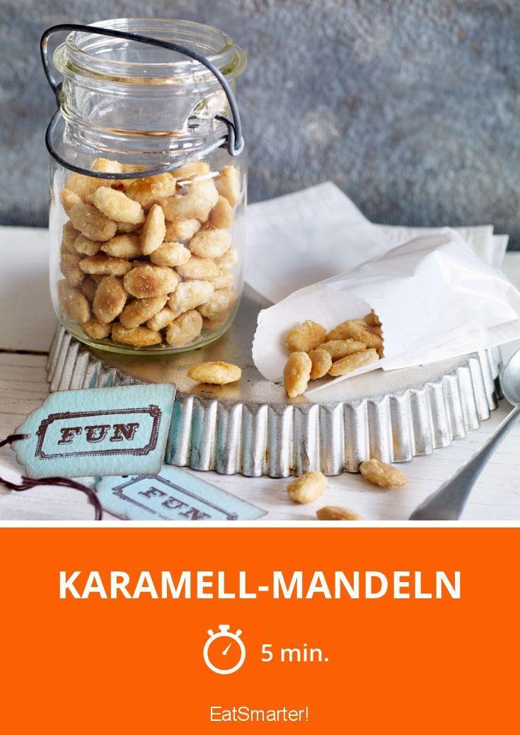 Karamell-Mandeln