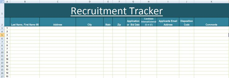 recruitment tracker excel template xls microsoft excel templates excel project management. Black Bedroom Furniture Sets. Home Design Ideas