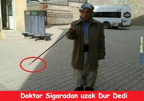 Doktor Sigaradan Uzak Dur Dedi