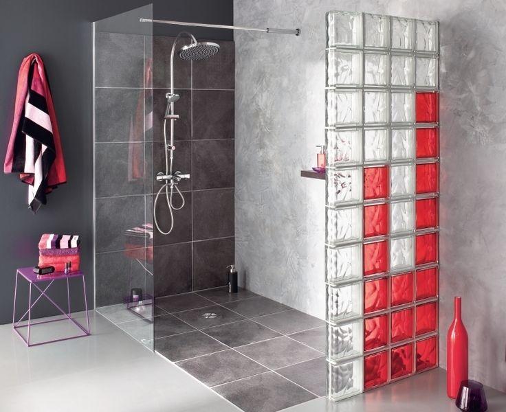 56 best brique de verre images on pinterest | glass, glass blocks