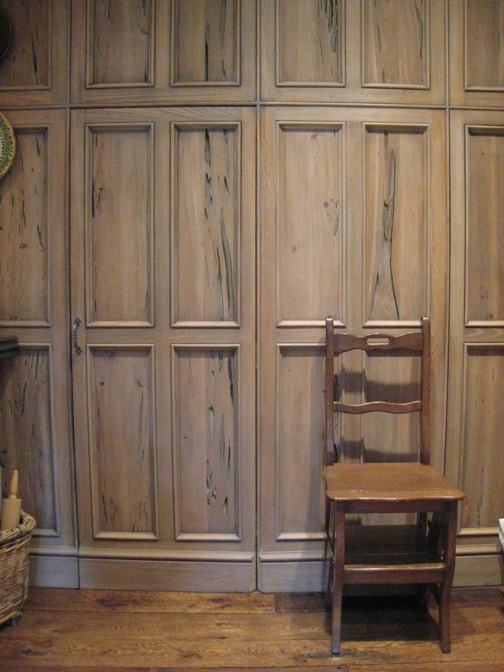 pecky cypress paneling Love this...take all our cypress from the exterior and have interior doors made!
