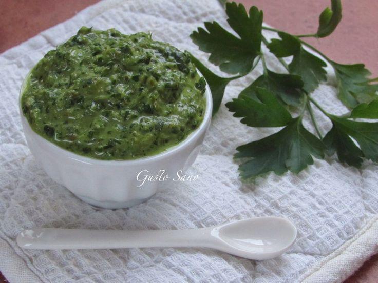 Ricetta: Salsa verde , della mamma.