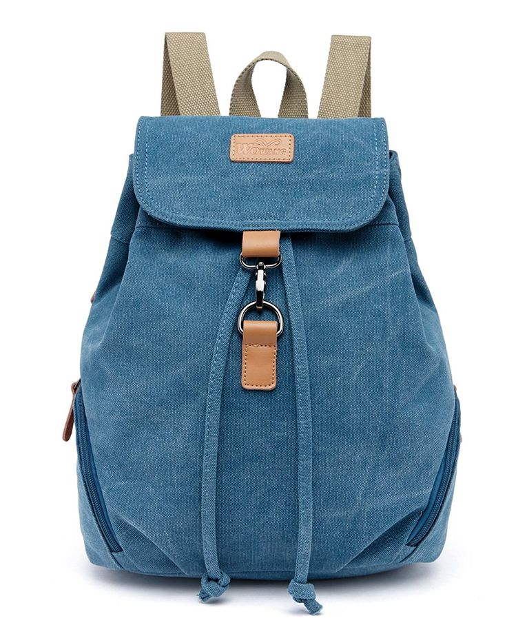 Genda 2Archer Casual Canvas Backpack Bookbag Hiking Bag Satchel Shoolbag -- Check this awesome image  : Day backpacks