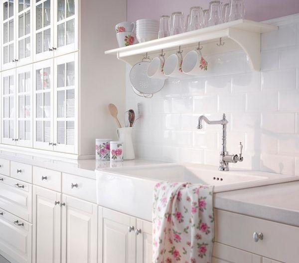 8180 besten cottage, shabby chic style bilder auf pinterest ... - Küche Shabby Chic