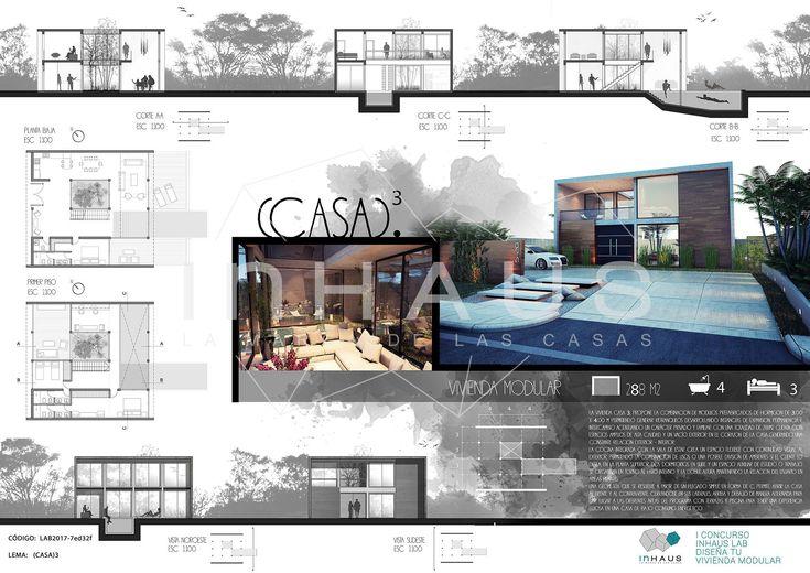 "II Concurso ""inHAUS LAB Diseña tu casa modular"" inHAUS"