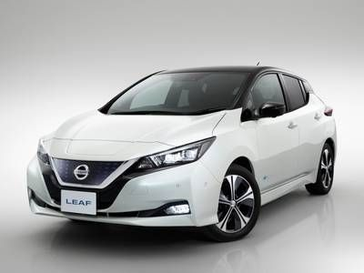 Buyers of the new Nissan LEAF in Japan can get a free solar array