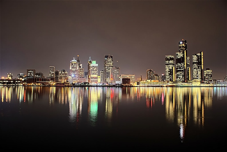 Detroit skyline... I want a skyline tattoo to represent my heart for the inner city