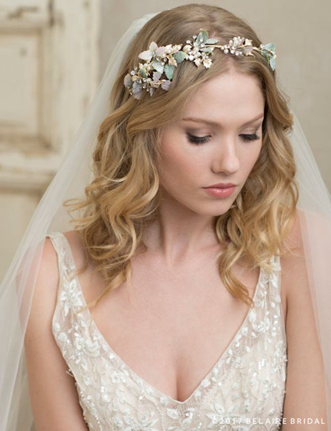 Bel Aire Bridal 6781 Bridal Headband Wedding Headpiece Bridal