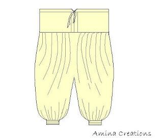 harem pants diy tutorial