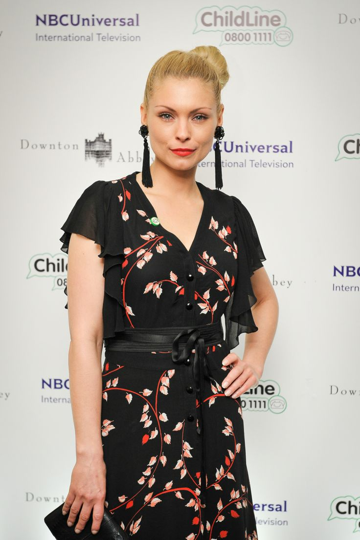 MyAnna Buring at the Downton Abbey ChildLine Ball