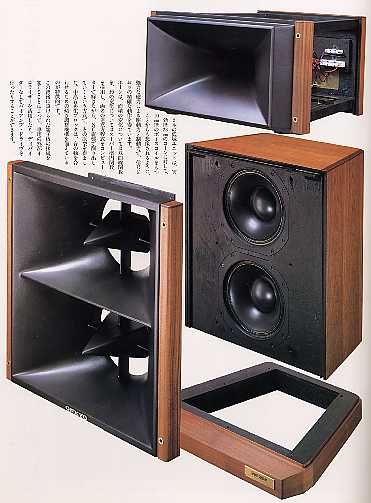 ONKYO GS-1 Twin Woofers and Titanium Tweeter with Horns