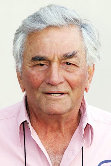 PETER FALK  COLOMBO STAR DIED AGE 83 ON JUNE 23 AFTER SUFFERING FROM ALZHEIMERS DISEASE AND DIMENTIA HE WON FOUR EMMYS FOR COLOMBO