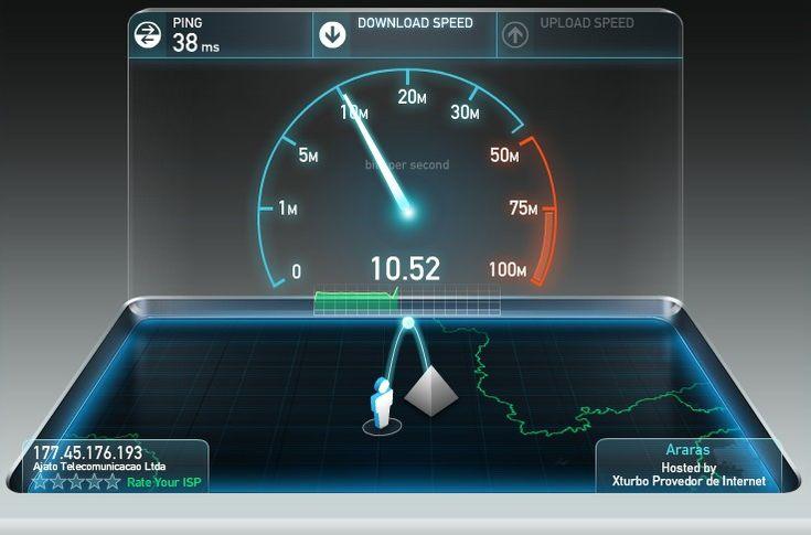 Teste a velocidade de sua conexão banda larga agora no site, Copel , SpeedTest e veja se você está recebendo o que contratou! , veja mais de Teste de velocidade de conexão internet banda larga