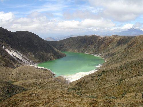 Volcán Azufral, Nariño (Región Andina) , Colombia.