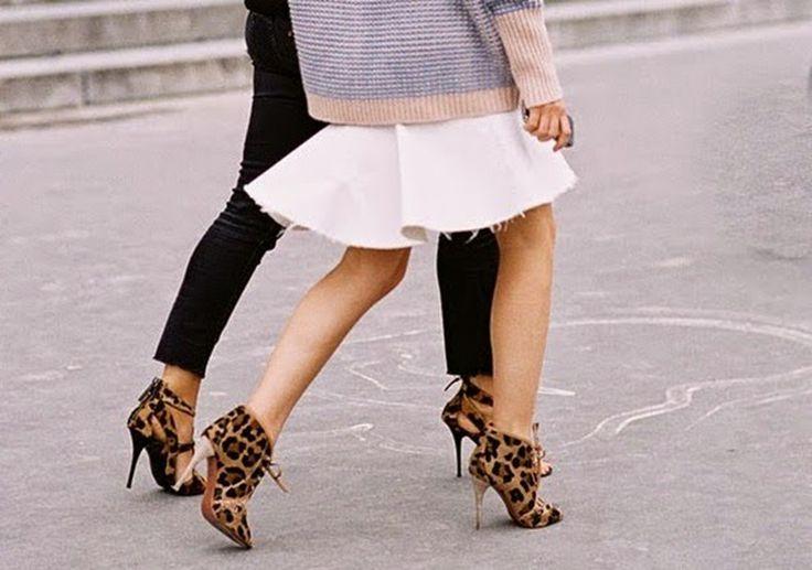 100 нужных вещей: леопардовая обувь : / фото 2