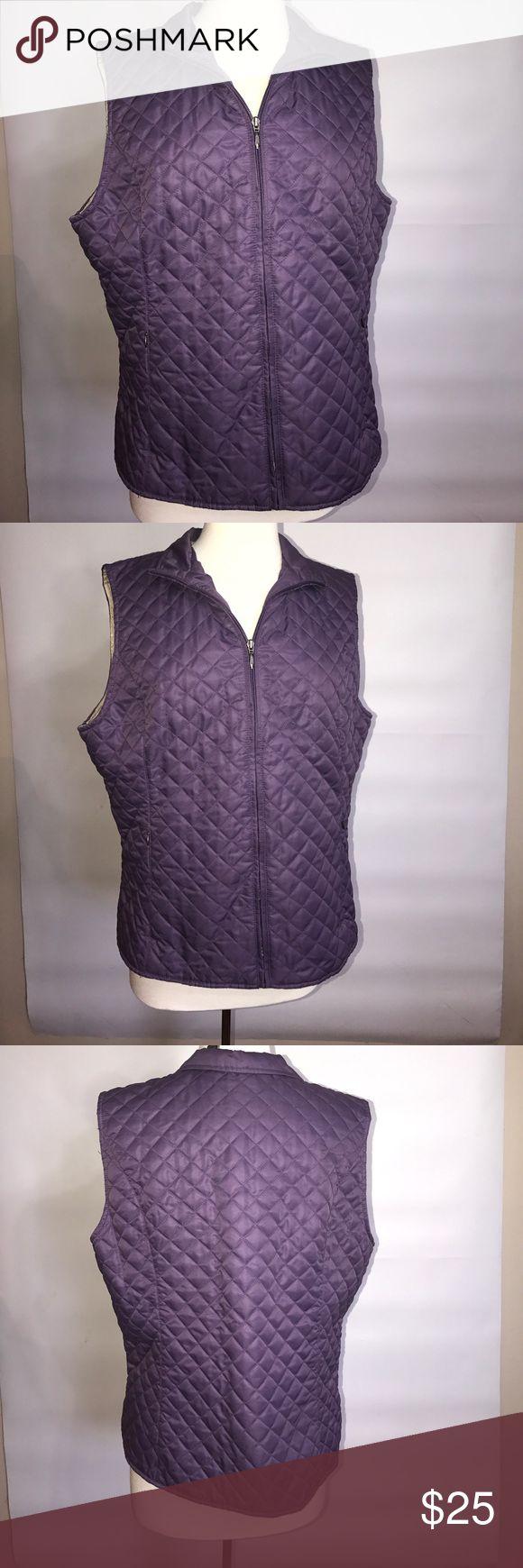 Eddie Bauer Purple Vest XL 2142 Eddie Bauer Purple Vest XL 2142 Like New Eddie Bauer Jackets & Coats Vests