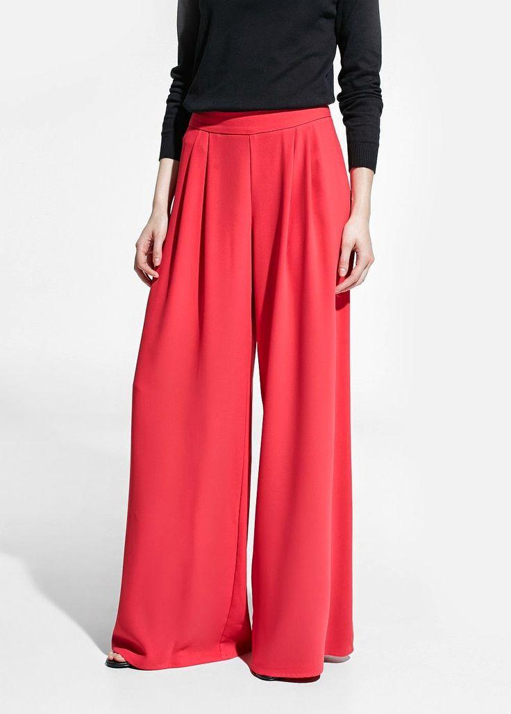 MIÉRCOLES CON ESTILO: Pantalones palazzo | Cuidar de tu belleza es facilisimo.com
