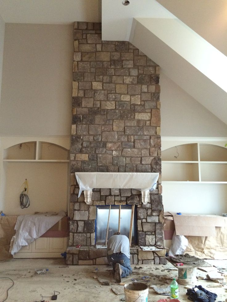 Fireplace Design veneer stone fireplace : The 25+ best Natural stone veneer ideas on Pinterest | Fireplace ...