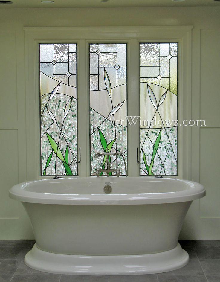 Badezimmer Fenster Glas Konstruktionen