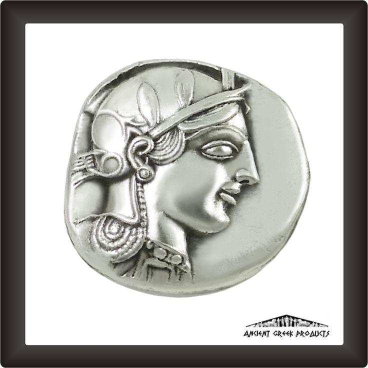 Silver Tetradrachm Coin of Athens