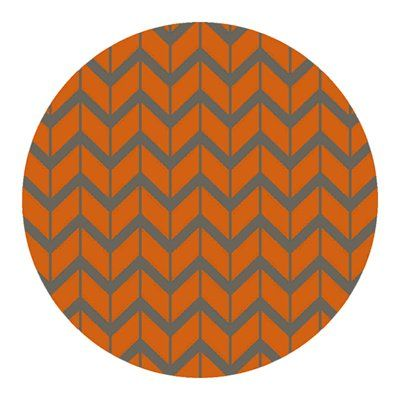 surya fal1089 fallon burnt orange area rug