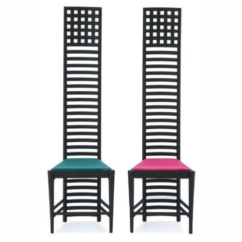 Charles Rennie Mackintosh chairs