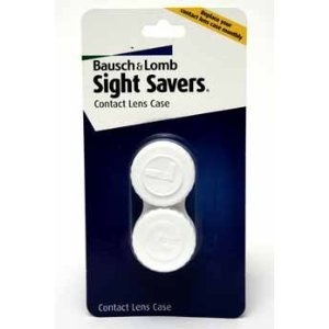 Bausch & Lomb Sight Savers Contact Lens Case Case Pack 24 - 361826