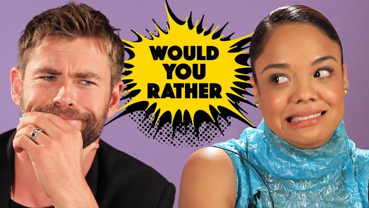 """The Cast Of """"Thor: Ragnarok"""" Plays Superhero Would You Rather"""
