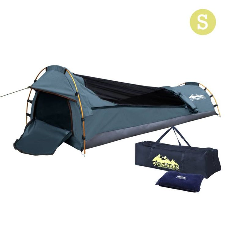 Biker Camping Swag with Air Pillow Single Navy shopping, Buy Single Swags online at MyDeal for best deals, coupons, bargains, sales