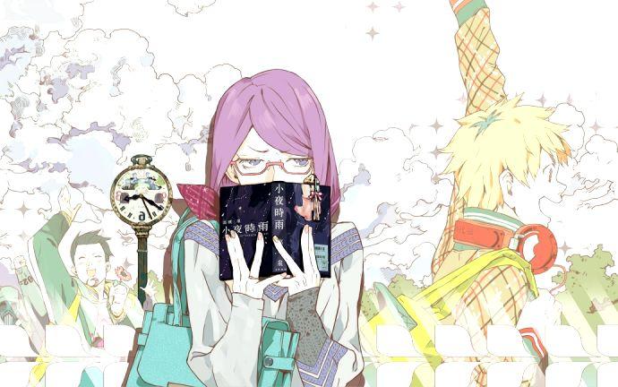 Tokyo Ghoul | Toukyou Kushu - Kamishiro Rize, Nagachika Hideyoshi, and Banjou