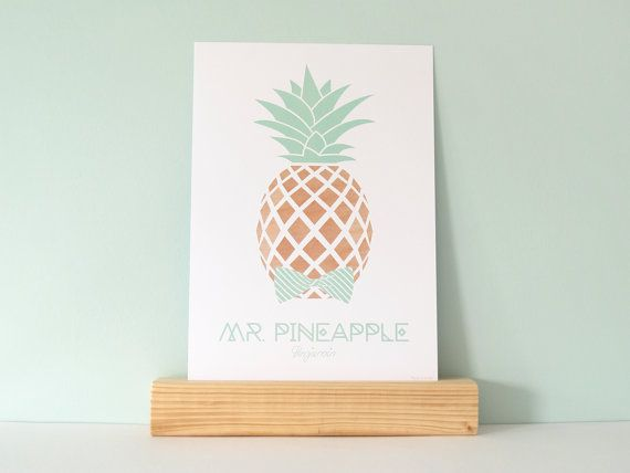 Print 'Mr. Pineapple - Benjamin'