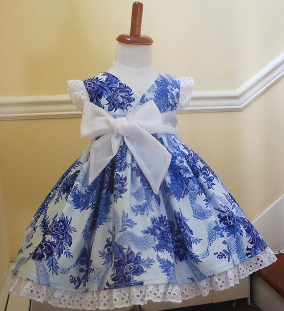 Beautiful classic girls boutique dress in by emaleighscupboard, $40.00