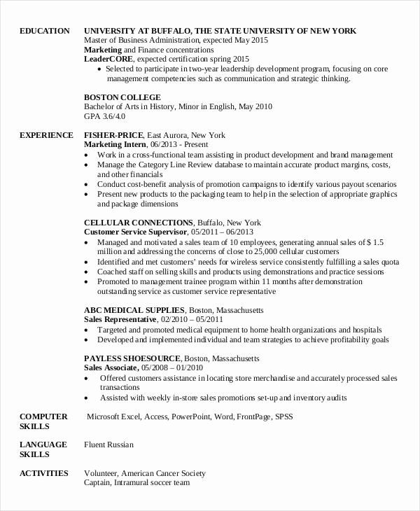 Pin On Professional Resume Templates Online