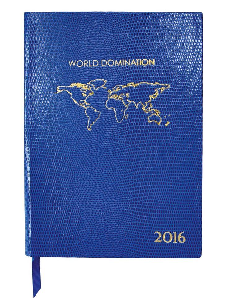 2016 World Domination - Desk Diary