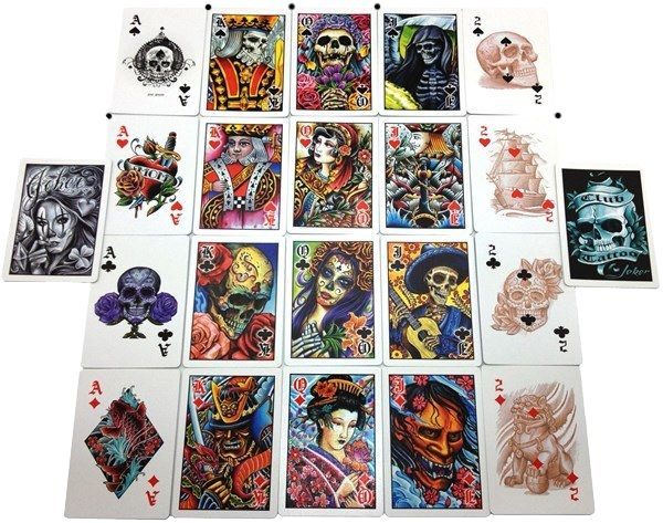 30 best playing cards images on pinterest decks game for Bicycle club tattoo deck