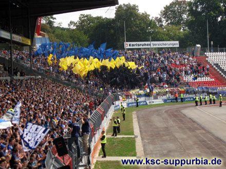 8. Spieltag: KSC - 1. FC Saarbrücken 3:0