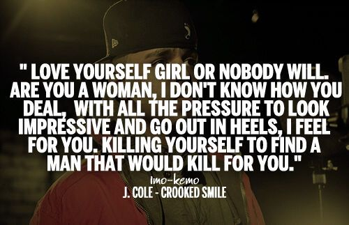 Crooked smile - j.cole