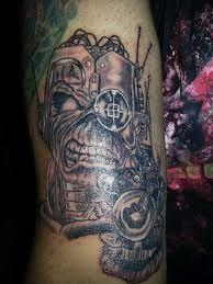 Iron Maiden Somewhere in Time Eddie tattoo by Gary-ODD ...  |Iron Maiden Somewhere In Time Tattoo