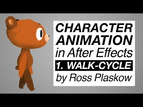 How To Make a Cartoon | Character Animation - After Effects tutorial [Basic Walk-cycle] - YouTube