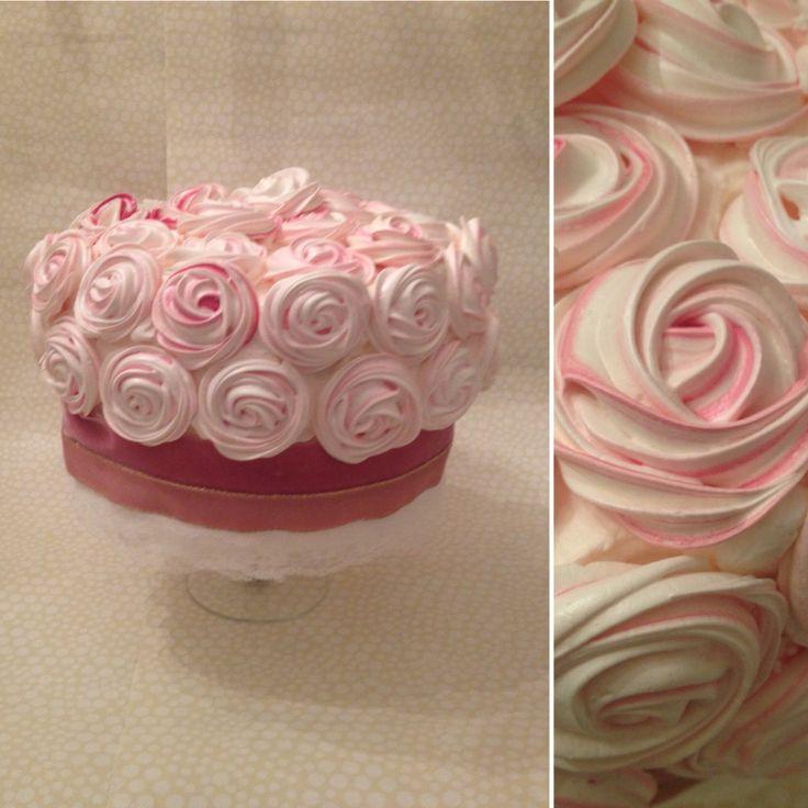 Torta Compleanno Rosescake merengues cakes torta meringhe