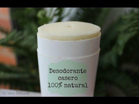 Desodorante casero natural | Yo Vivo Natural