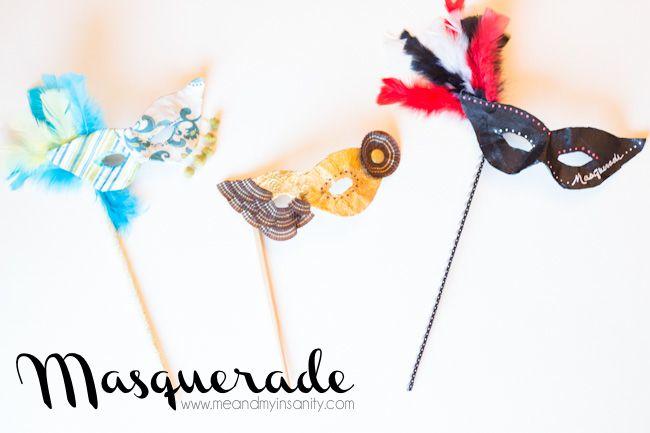 Masquerade MasksDiy Masks, Ball Masks, Masks Masquerades, Diy Tutorials, Daughters Dance, Masks Tutorials, Masquerades Parties Diy, Daddy Daughters, Homemade Masks