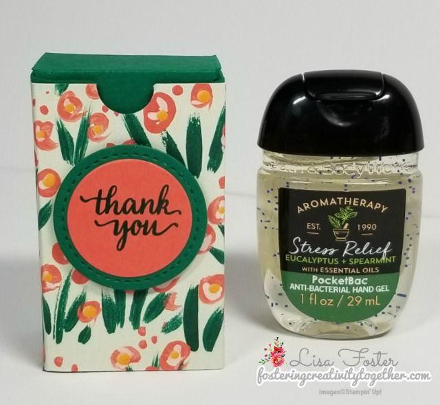 Garden Impressions Hand Sanitizer Gift Box Hand Sanitizer Staff