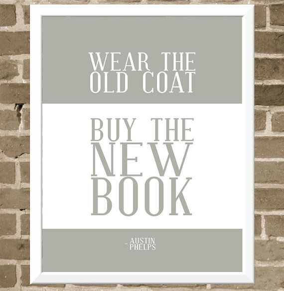 Wear the old coat print