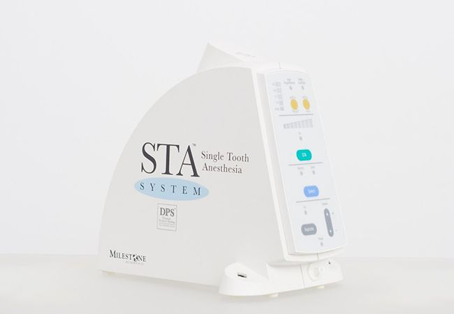 In our continued effort to make your visit as comfortable as possible, we are happy to offer our patients the STA Painless Injection System which makes receiving anesthesia virtually painless. #dentist #dental treatment