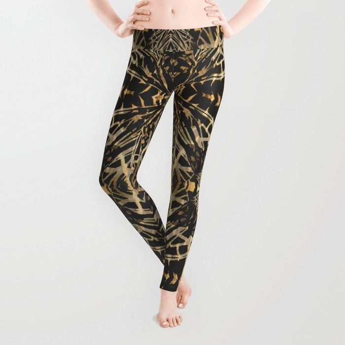 Moth's wings pattern in Leggings - Front! http://society6.com/product/moth-qms_leggings#56=417