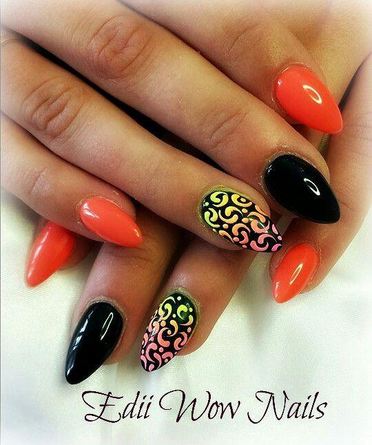 Sugar effect nails gel