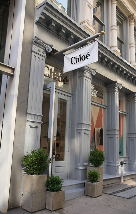 Chloé on Greene St. in Soho, New York City